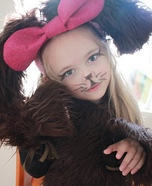 Puppy Girl Homemade Costume