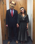 Purge Couple Homemade Costumes