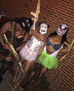 Purge Election Year Candy Girls Homemade Costume