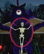 One Eyed Purple Monster Homemade Costume