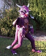 Purple Dragon Homemade Costume
