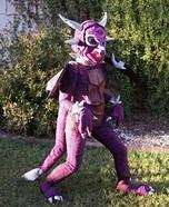 Purple Dragon Homemade Costume