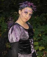 Purple Fairy Homemade Costume