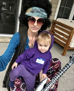 Purple Hayes & Jimi Hendrix Costume