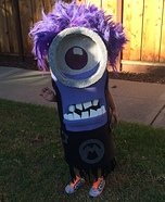Purple Minion Homemade Costume