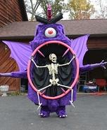 Purple People Eater Homemade Costume