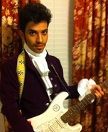 Purple Rain Prince Adult Costume
