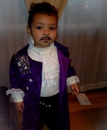 Purple Rain Prince Baby Homemade Costume