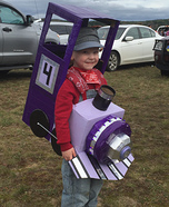 Purple Train Homemade Costume