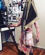Pyramid Head Boy Homemade Costume
