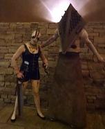 Pyramid Head & Claudia Wolf Homemade Costume