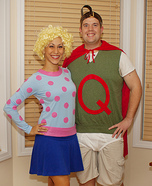 Homemade Costumes for Couples - Costume Works (page 20/64) Quailman And Patty Mayonnaise Costume