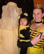 Queen Bee Family Homemade Costume