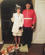Queen Elizabeth and Guard Homemade Costume