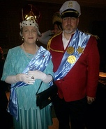 Queen Elizabeth II & Prince Phillip Homemade Costume
