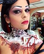Queen of Broken Hearts Homemade Costume