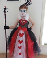 Queen of Hearts Tutu Dress Costume