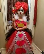 Queen of Hearts Girl's Costume Idea