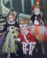 Queen of Spades, Queen of Hearts and King of Hearts Homemade Costumes