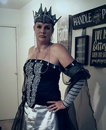 Queen Ravenna Homemade Costume