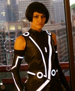 Homemade Tron Quorra Costume
