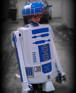 Homemade R2-D2 Costume