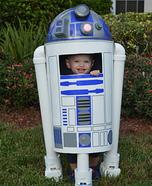 R2D2 Homemade Costume