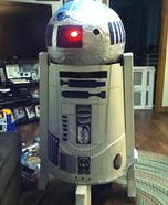 R2D2 Homemade Costume