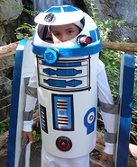 R2D2 Boy's Homemade Costume