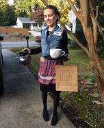 Rachel Green from F.R.I.E.N.D.S. Homemade Costume