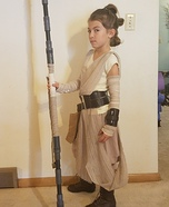 Rey from Star Wars Homemade Costume