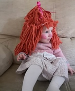 Ragdoll Baby Homemade Costume