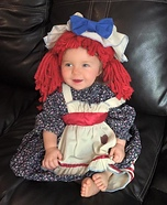 Raggedy Ann Doll Homemade Costume