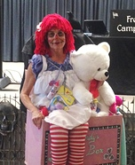 Raggedy Ann & Toys in a Toy Box Homemade Costume