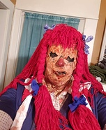 Raggedy Ann Rose from Hell Homemade Costume