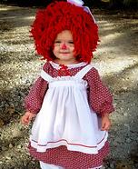 Raggedy Anne Homemade Costume