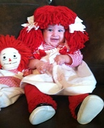 Homemade Raggedy Doll Costume