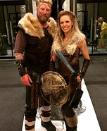 Ragnar and Lagertha Homemade Costume
