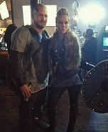Ragnar and Lagertha Lothbrok Homemade Costume