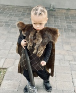 Ragnar from The Vikings Homemade Costume