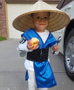 Raiden Mortal Kombat Costume for Boys