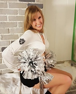 Raiderette Cheerleader Homemade Costume