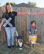 Railroad Family Homemade Costume