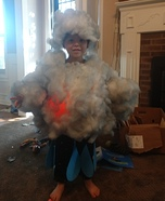 Rain and Lightning Homemade Costume