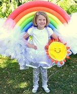 Rainbow Homemade Costume