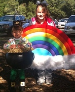 Rainbow and Pot of Gold Costume