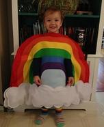 Rainbow Baby Homemade Costume