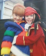 Rainbow Brite Costume for Girls