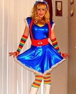 DIY Rainbow Brite Costume