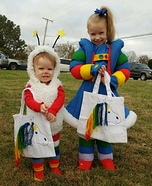 Rainbow Brite and Twink the Sprite Homemade Costume